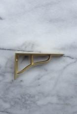 Futagami Ihada Brass Shelf Brackets (Set of 2) - Small - 4.75 x 2.5 in