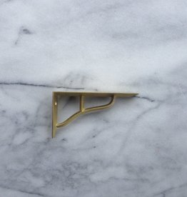 Futagami Ihada Brass Shelf Brackets (Set of 2) - Small