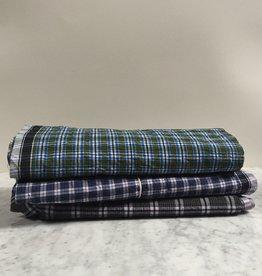 Cotton Madras Checked Fabric