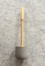 Birch Toilet Brush in Light Grey Concrete Stand