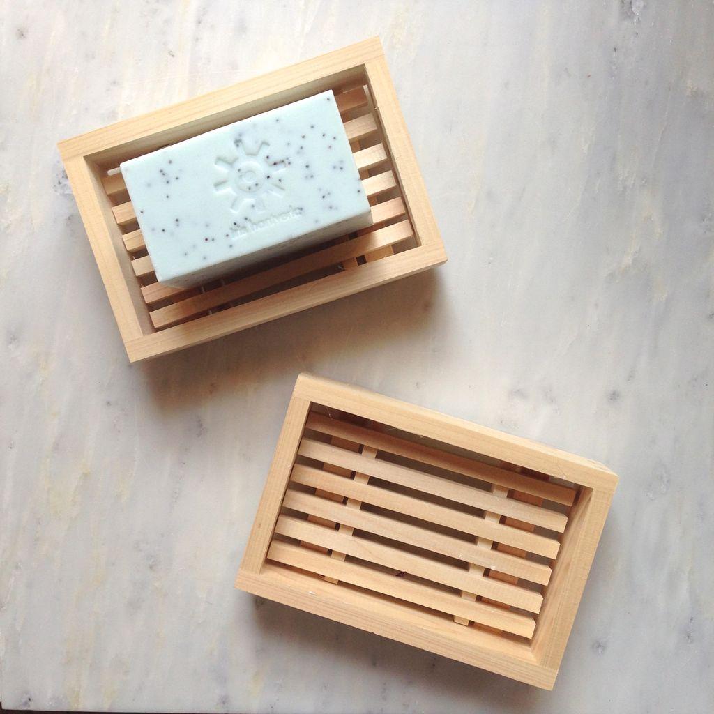 Hinoki Cypress Soap Dish