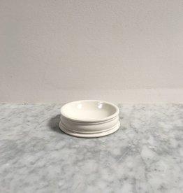 John Julian John Julian Hand Thrown Porcelain Pinch Pots - Full Glaze - Small - 3 in.