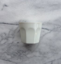 Porcelain Modern Cup - Picardie - White - DISCO
