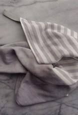 Square Towel with Hanging Loop - Lt. Grey