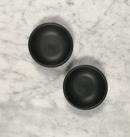 Portuguese Barro Negro Handmade Salt & Pepper Dish - Individual