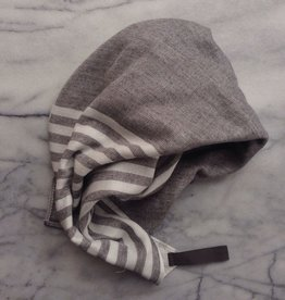 Square Towel with Hanging Loop - Dark Grey