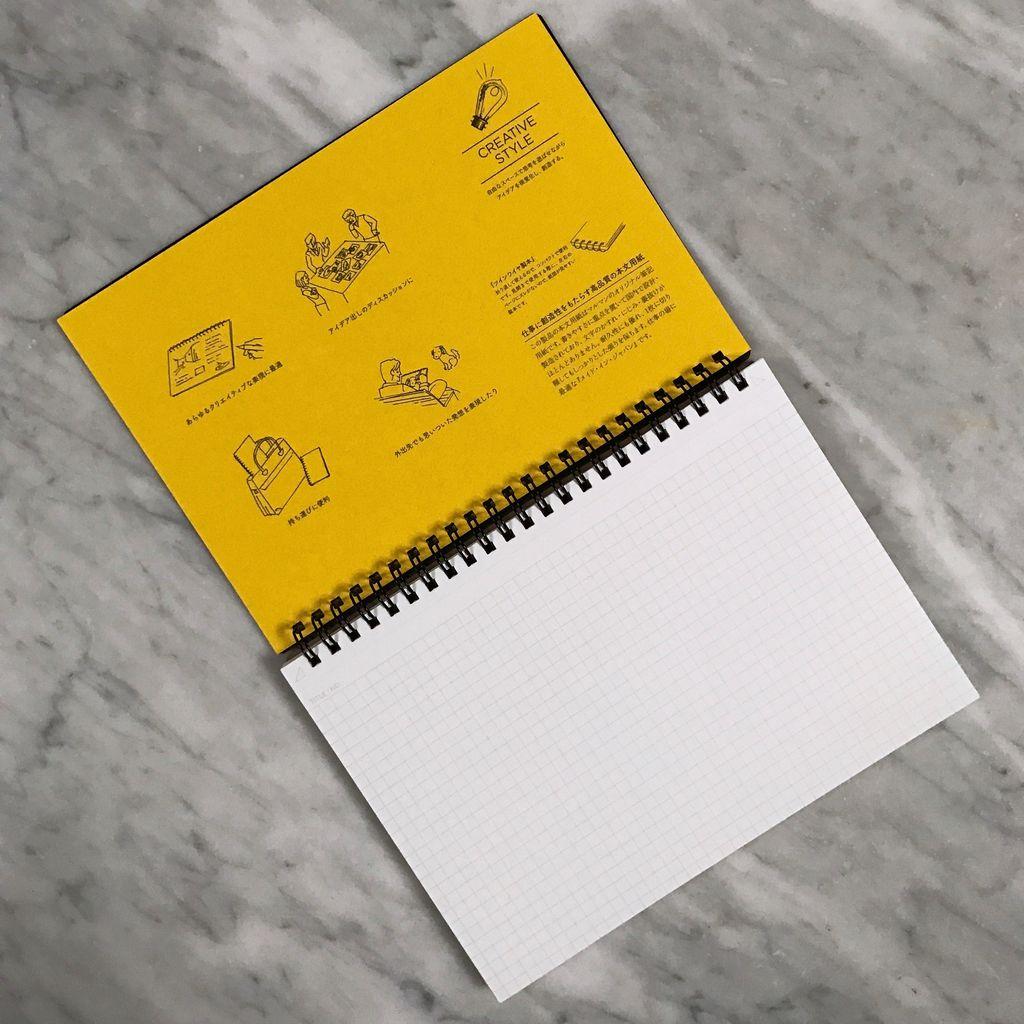 Mnemosyne Maruman A5 Notebook Grid - 6.3 x 8.3