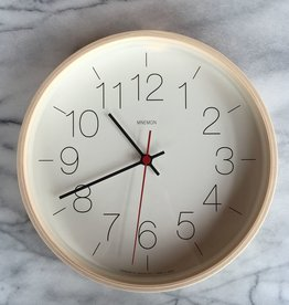 Mnemon Clock - Natural Wood