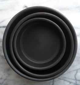 Portuguese Barro Negro Set of 3 Handmade Baking Dishes