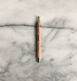 Sierra Wooden Needle Point Pen - Short - Natural