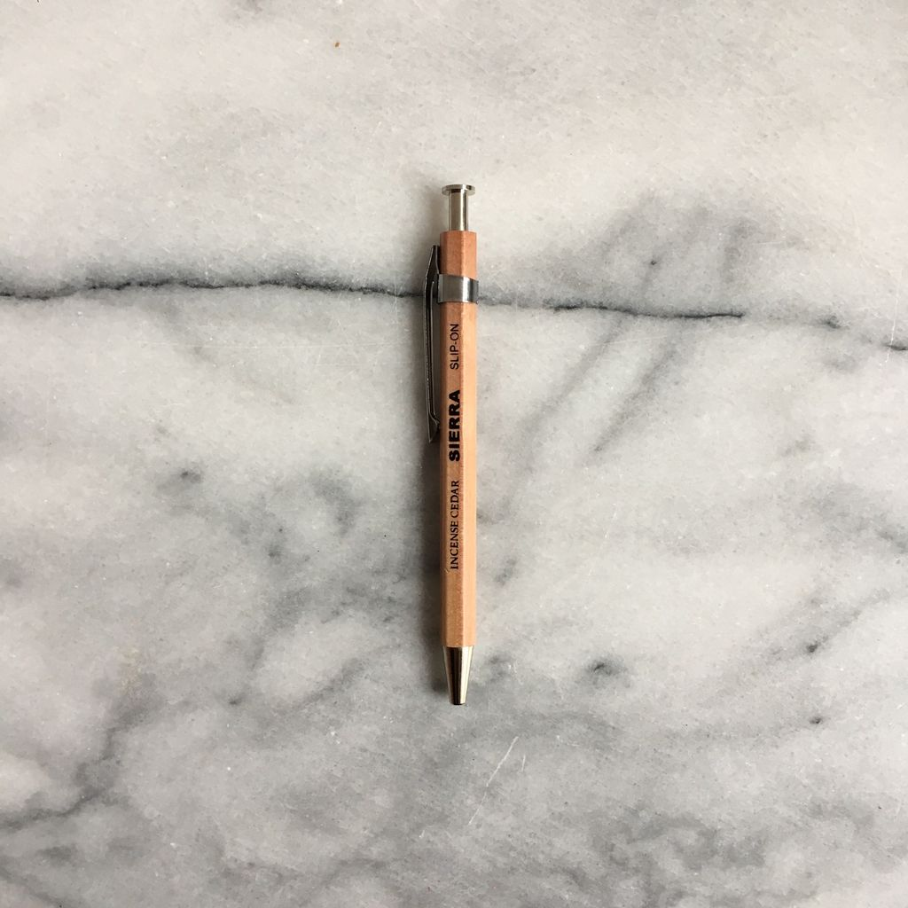 Sierra Short Wooden Pen - Natural