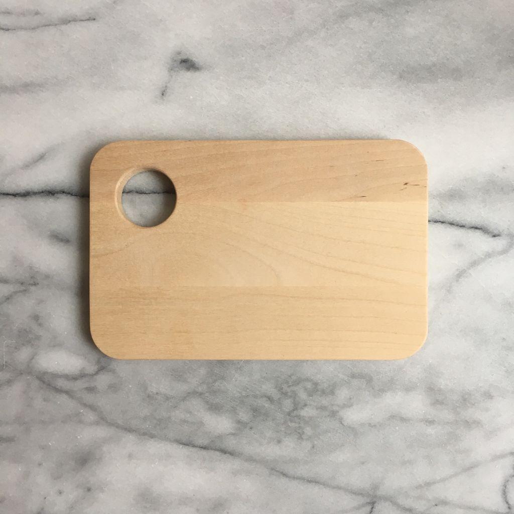 Swedish Birch Sandwich Board with Egg Cup
