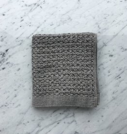 Lattice Waffle Hand Towel - Grey - 14.5 x 33.5 in