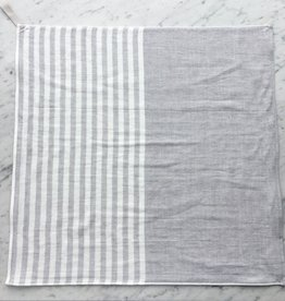 Square Towel with Hanging Loop - Lt. Grey
