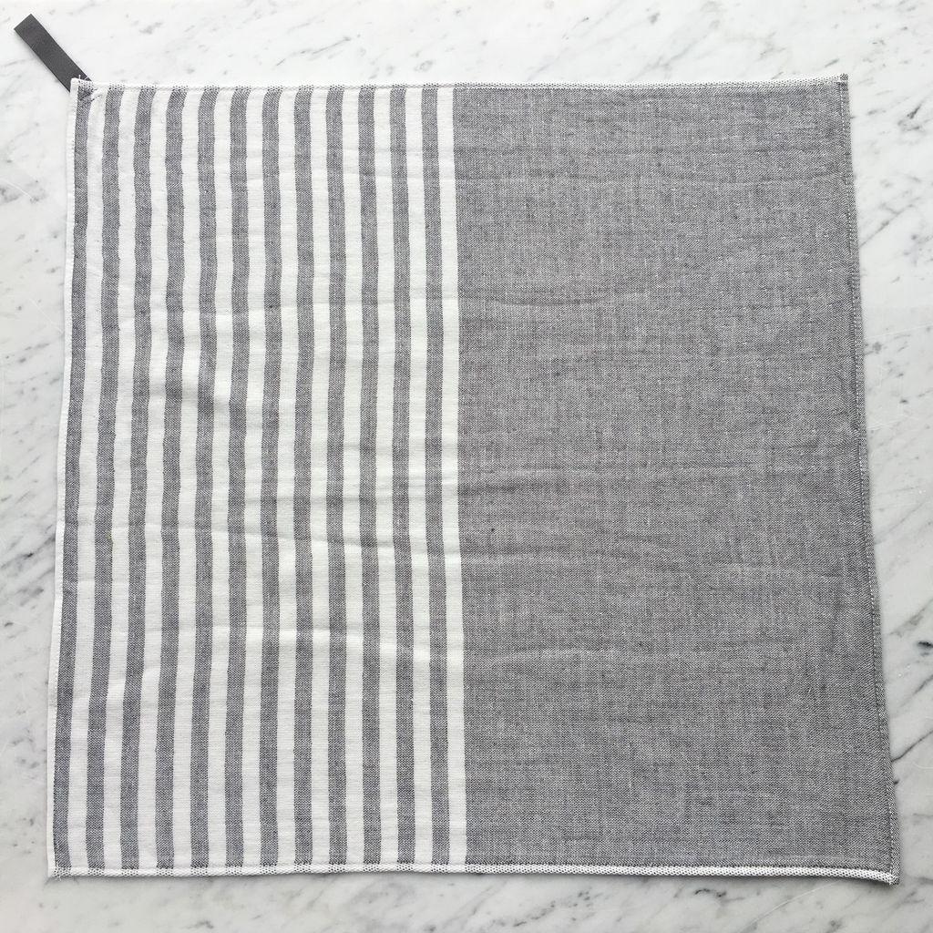 Square Towel with Hanging Loop - Dk. Grey
