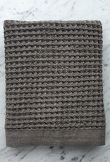 Lattice Waffle Bath Towel - Brown - 57 x 33.5