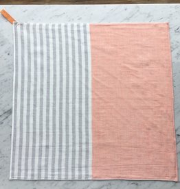 Square Towel with Hanging Loop - Orange