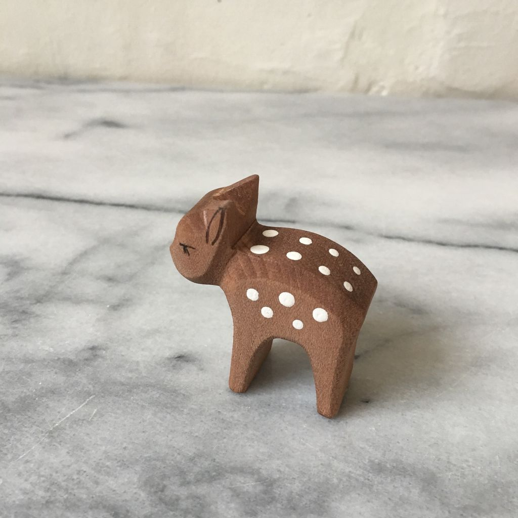 Ostheimer Toys Spotted Deer Fawn Head Low