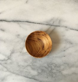 Little Teak Pinch Bowl - 2.5 in
