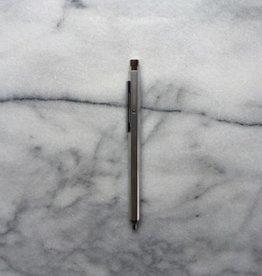 Needle Point Horizon Hexagonal Pen - Silver - 0.7mm