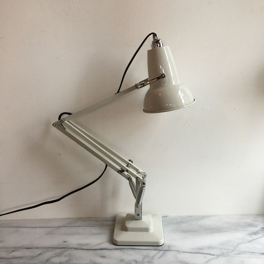 Anglepoise Original 1227 Mini Desk Lamp - Linen White