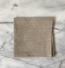 Lakeshore Linen Cocktail Napkin - Natural - 6 x 6 in.