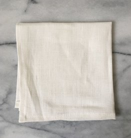 Lakeshore Linen Dinner Napkin - White - 17 x 17 in.
