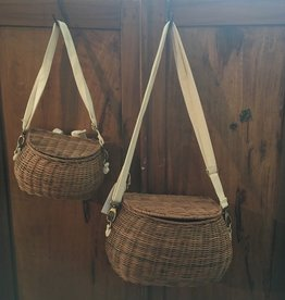 Big Chari Basket - Natural - 13 x 7 in