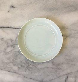 Japanese Mizu Mizu Round Porcelain Dish - Medium - Pale Blue -  6 in