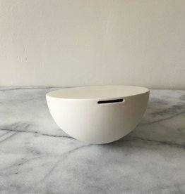 Jicon Porcelain Half Tilt Bank - Large - 6 in