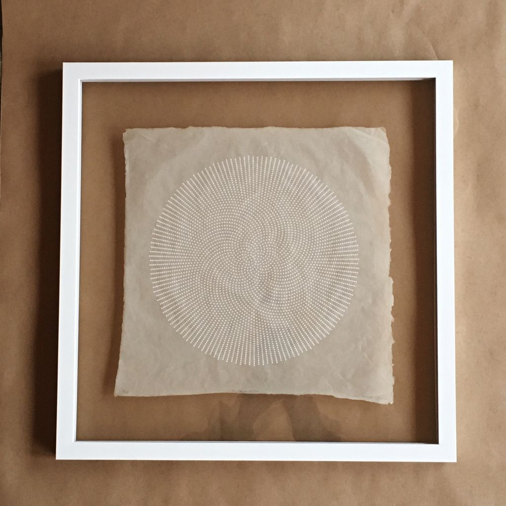 James Kleiner Framed James Kleiner Spiral Print on Handmade Paper - Framed - Edition of 10