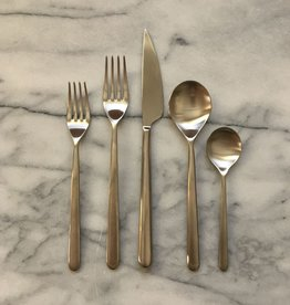 Mepra Italian Linea 5 Piece Place Setting - Ice