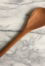 "Kenyan Olive Wood Paddle Cooking Spoon - 11""L"