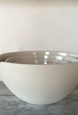 """John Julian John Julian Mixing Bowls Pouring, Set of 3, 8""""/10""""/12"""""""