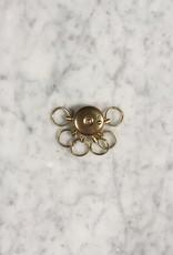 "A&F Brass Octopus Key Holder -1"" x 1.75""L"