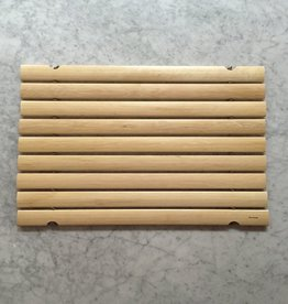 Swedish Oil Treated Birch Bath Mat Full Size