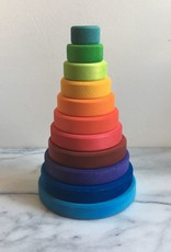 "Grimm's Toys Large Conical Tower - 8.25"" H"