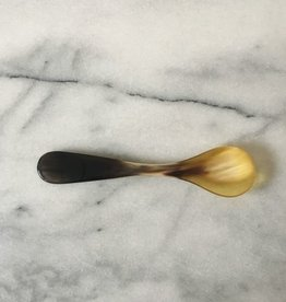 Danish Carved Horn Egg Spoon