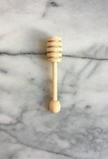 Japanese Wood Honey Dipper - 4.75 in