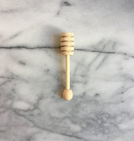 Japanese Wood Honey Dipper - 4.75 in