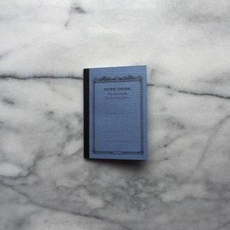 Japanese Mini Notebook - Blue