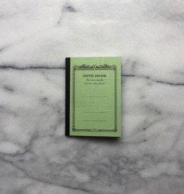 Japanese Mini Notebook - Green