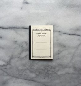 Japanese Mini Notebook - White