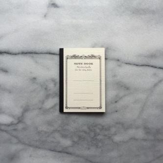 Japanese Mini Notebook - White