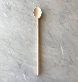Pacific Merchants Simple Beechwood Heavy Spoon - 18 inch