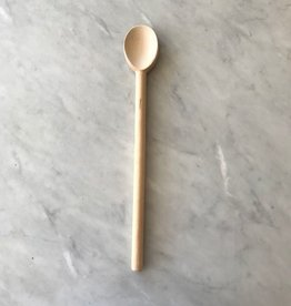 Pacific Merchants Simple Beechwood Heavy Spoon - 16 inch