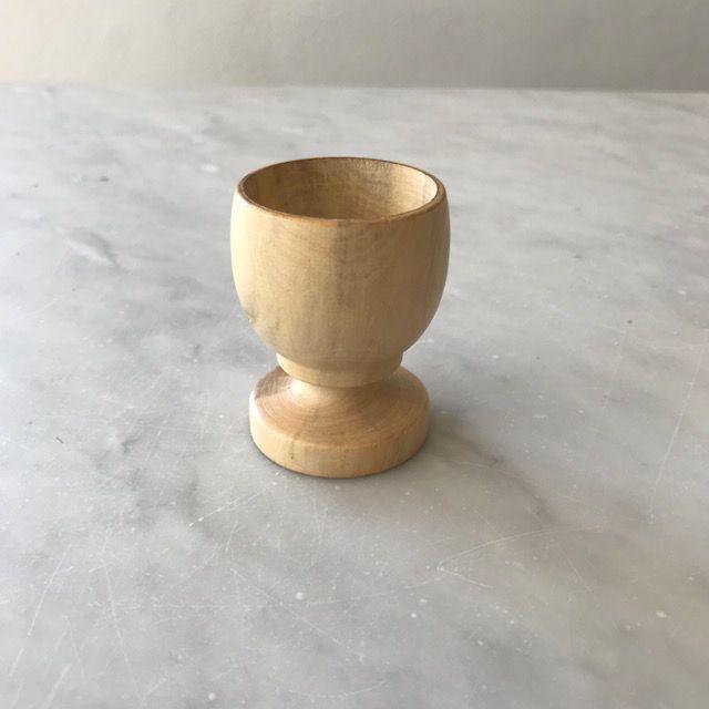 Pacific Merchants Boxwood Egg Cup