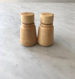 Pacific Merchants Simple Boxwood Salt Shaker