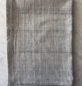 TENSIRA Handwoven Cotton Kitchen Towel - Grey - 20 x 28 in