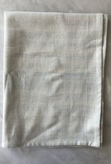 TENSIRA Handwoven Cotton Kitchen Towel - Pale Blue - 20 x 28 in